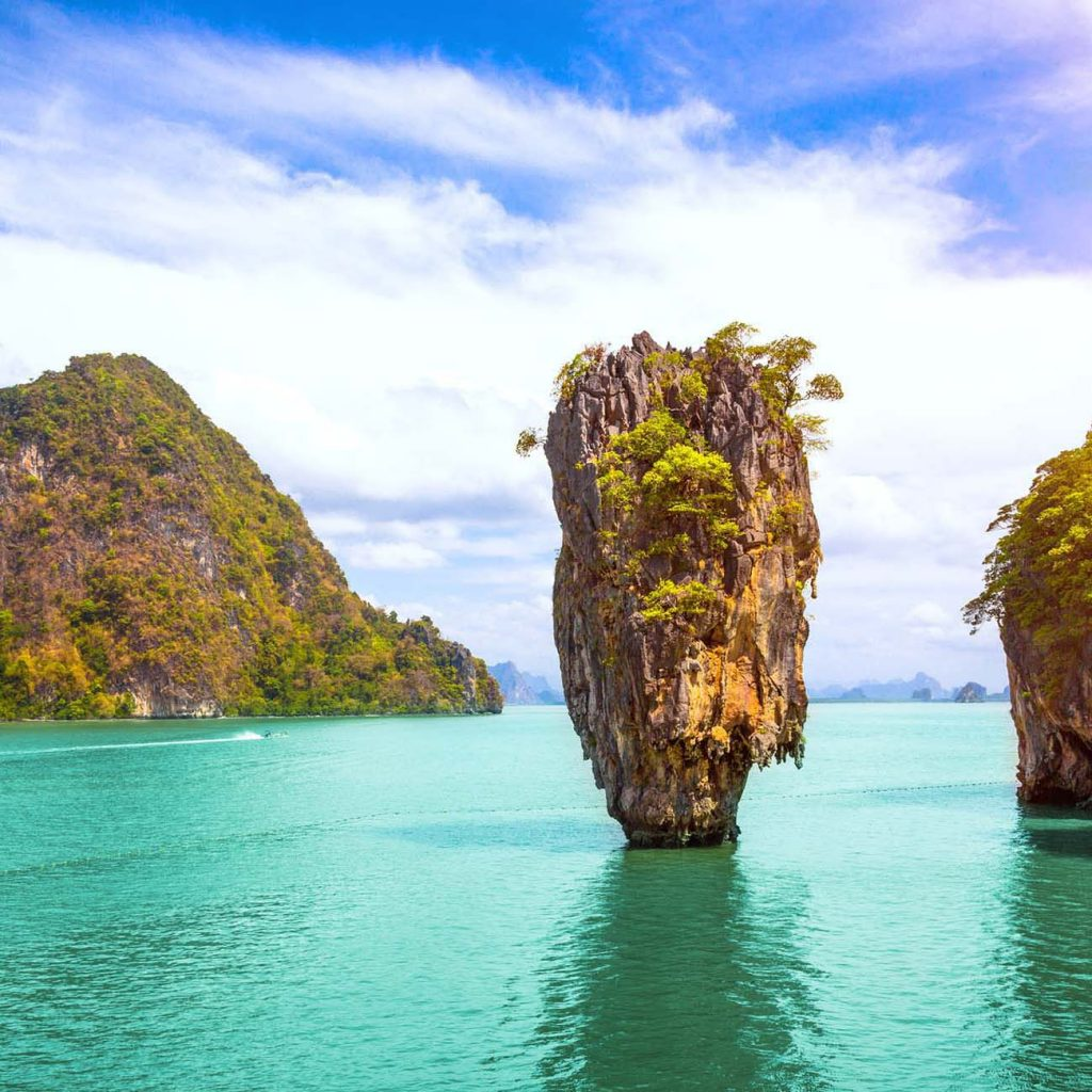 Phuket islands in Thailand